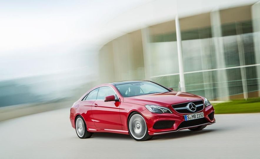 2014 Mercedes-Benz E500 coupe - Slide 2