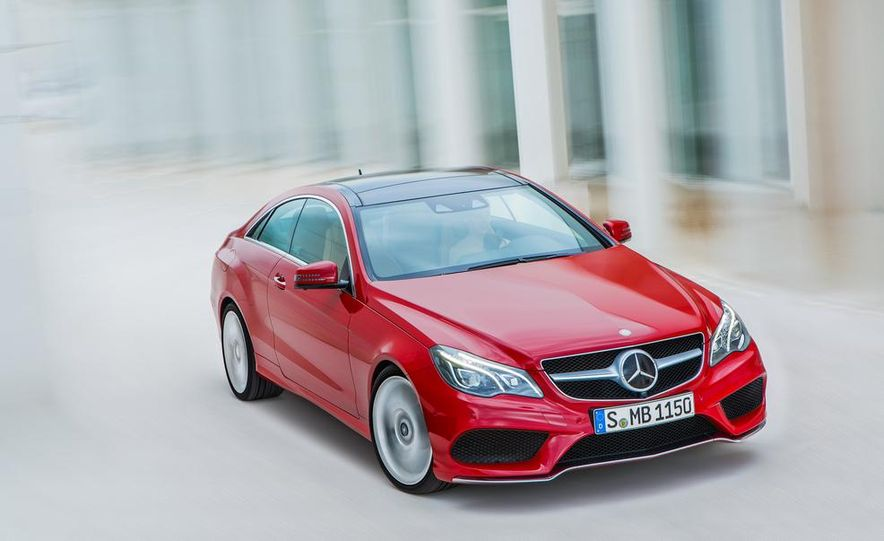 2014 Mercedes-Benz E500 coupe - Slide 4