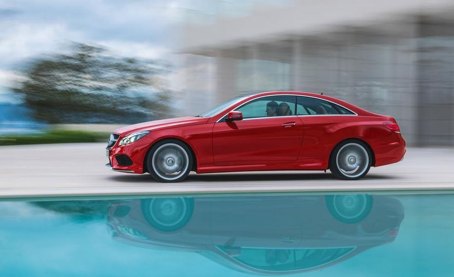 2014 Mercedes-Benz E500 coupe - Slide 5