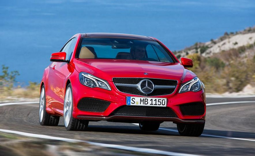 2014 Mercedes-Benz E500 coupe - Slide 6