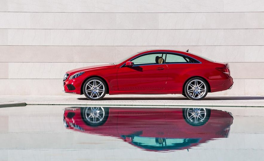 2014 Mercedes-Benz E500 coupe - Slide 12