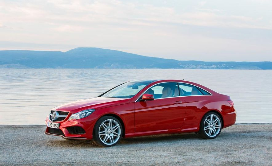 2014 Mercedes-Benz E500 coupe - Slide 15