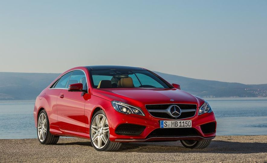 2014 Mercedes-Benz E500 coupe - Slide 17