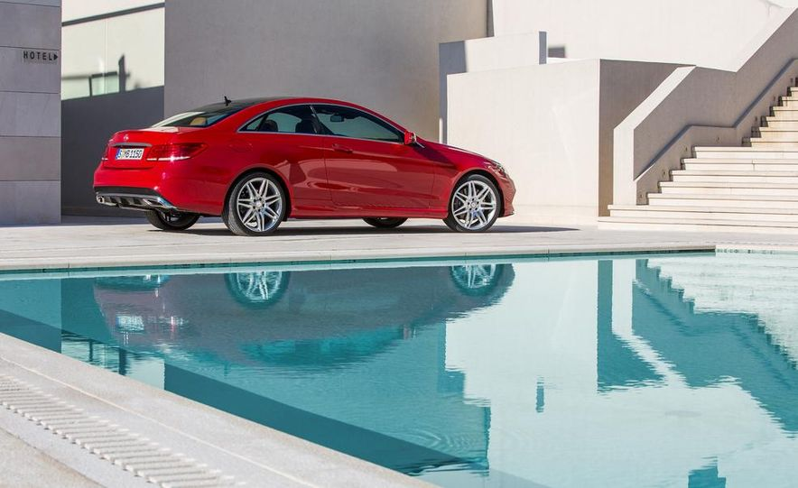 2014 Mercedes-Benz E500 coupe - Slide 18