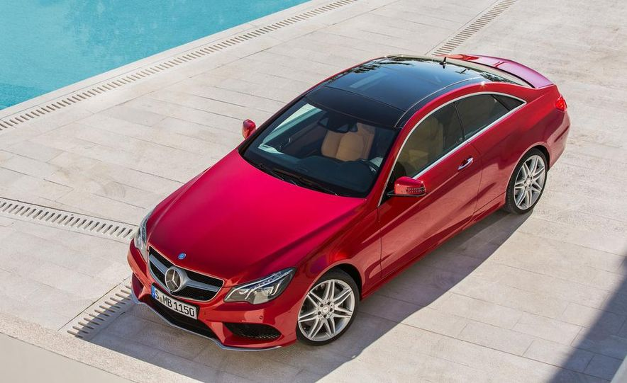 2014 Mercedes-Benz E500 coupe - Slide 19