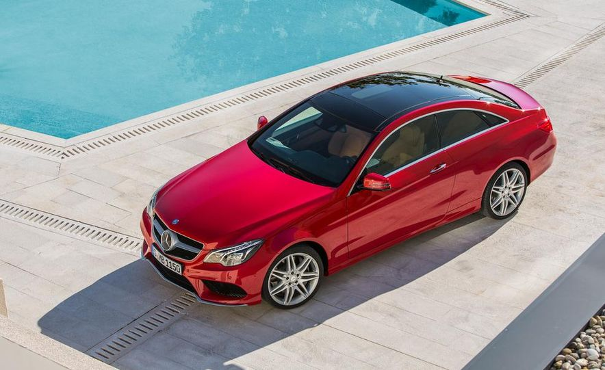 2014 Mercedes-Benz E500 coupe - Slide 20