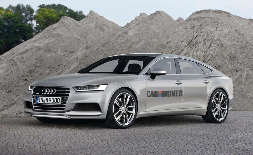 2016 Audi A5 (artist's rendering) - Slide 2