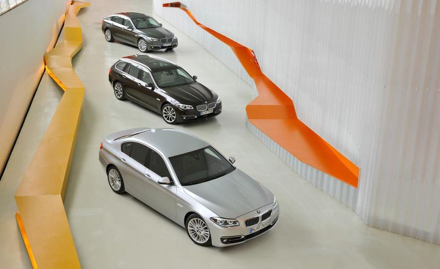 2014 BMW 5-series GT, Touring, and Sedan - Slide 1