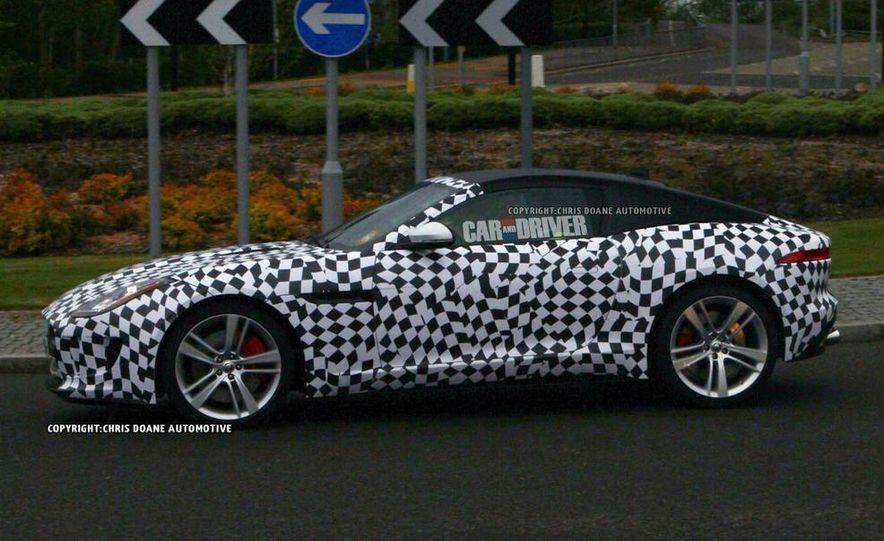 2015 Jaguar F-type coupe (spy photo) - Slide 1