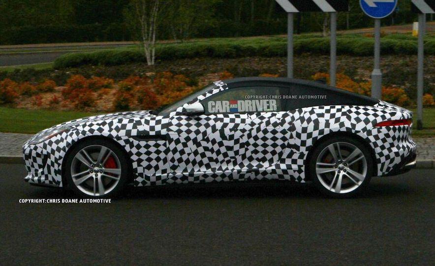 2015 Jaguar F-type coupe (spy photo) - Slide 3