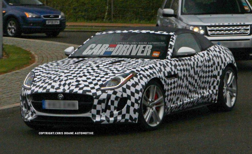 2015 Jaguar F-type coupe (spy photo) - Slide 4