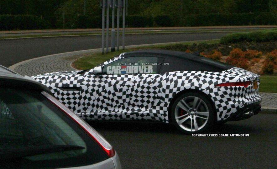2015 Jaguar F-type coupe (spy photo) - Slide 6