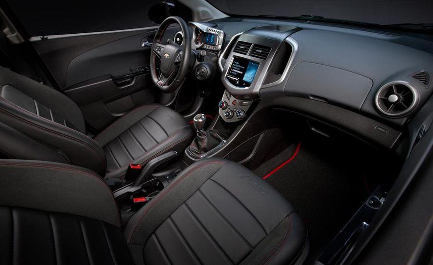 2013 Chevrolet Sonic RS - Slide 14