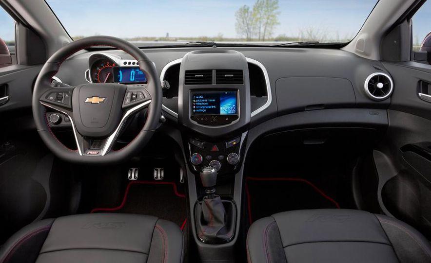 2013 Chevrolet Sonic RS - Slide 16
