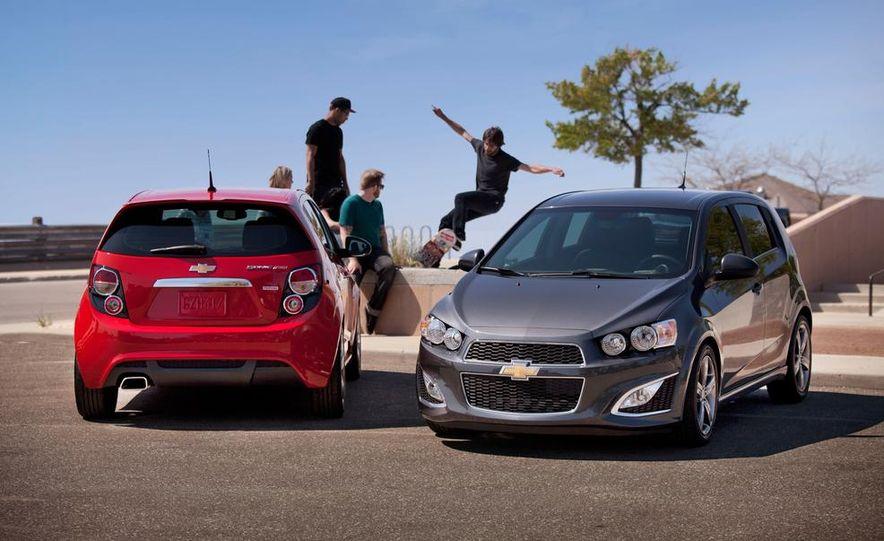 2013 Chevrolet Sonic RS - Slide 5