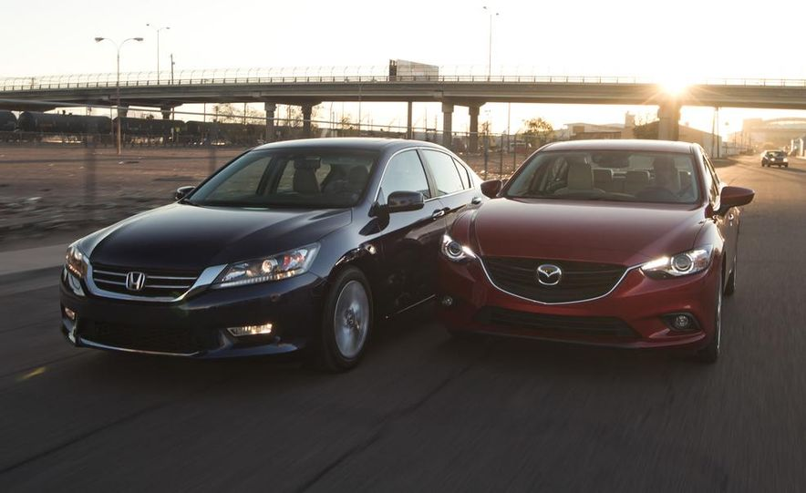 2014 Mazda 6 Grand Touring and 2013 Honda Accord EX-L - Slide 4