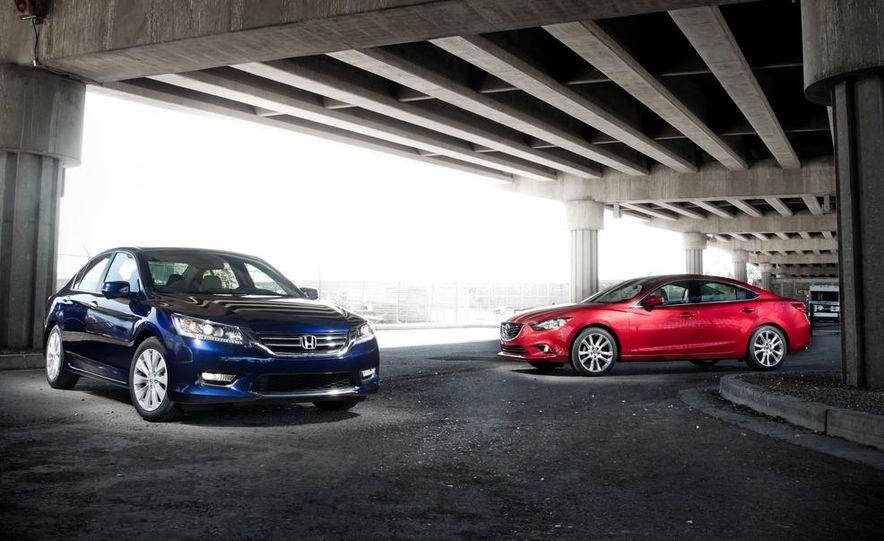 2014 Mazda 6 Grand Touring and 2013 Honda Accord EX-L - Slide 6