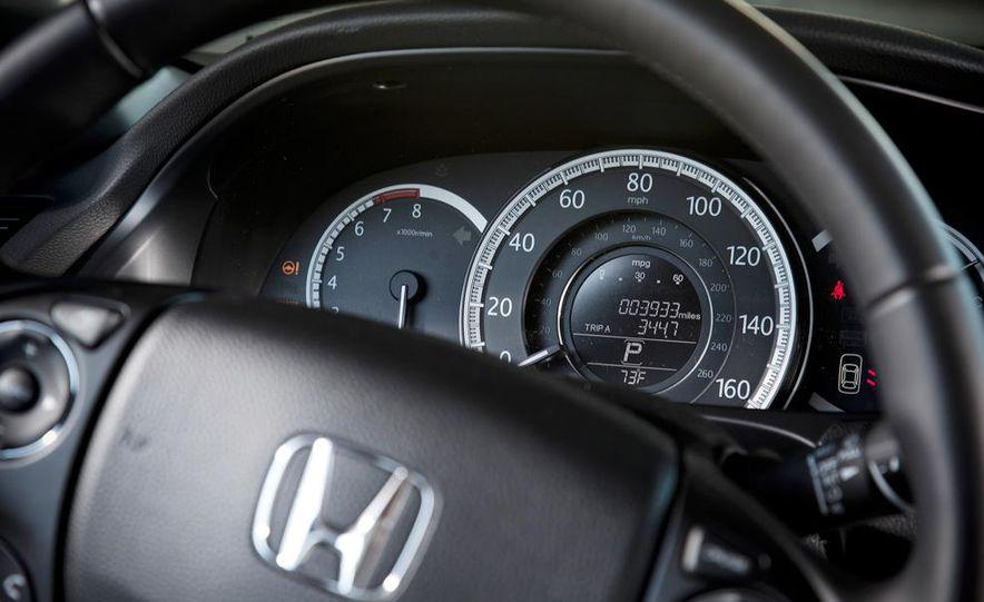 2014 Mazda 6 Grand Touring and 2013 Honda Accord EX-L - Slide 27