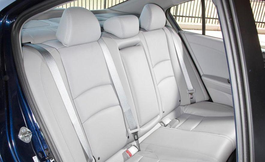 2014 Mazda 6 Grand Touring and 2013 Honda Accord EX-L - Slide 26
