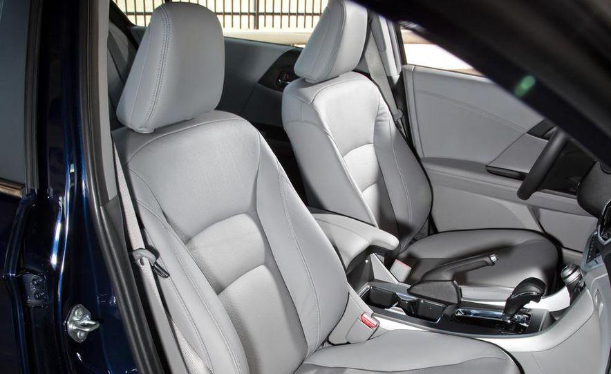 2014 Mazda 6 Grand Touring and 2013 Honda Accord EX-L - Slide 20