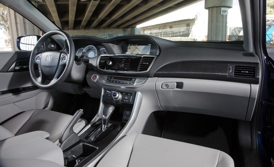2014 Mazda 6 Grand Touring and 2013 Honda Accord EX-L - Slide 22