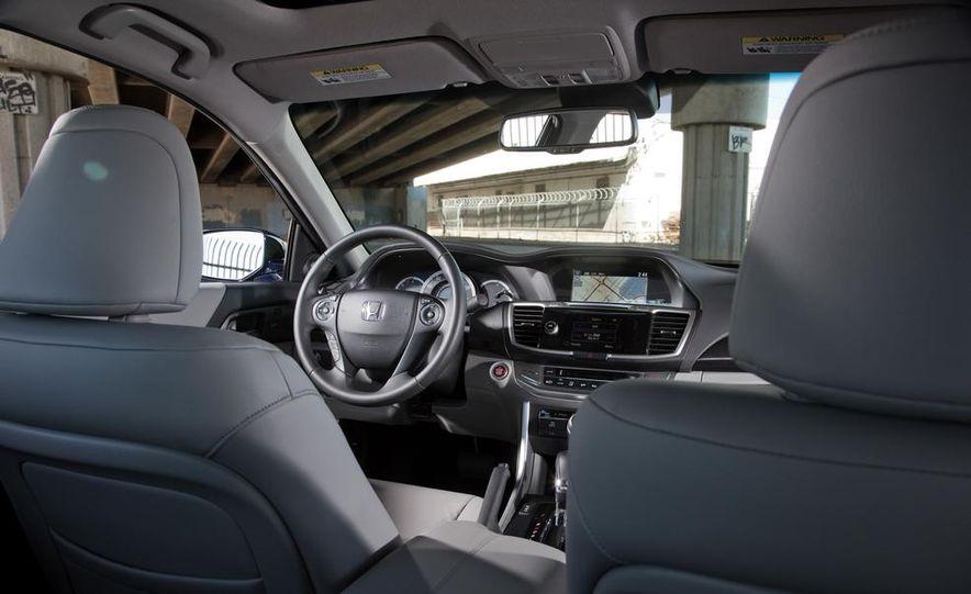 2014 Mazda 6 Grand Touring and 2013 Honda Accord EX-L - Slide 24
