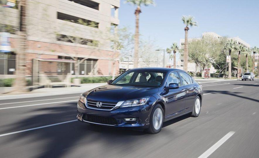 2014 Mazda 6 Grand Touring and 2013 Honda Accord EX-L - Slide 11