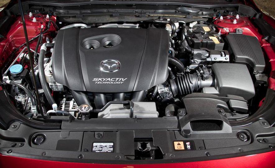 2014 Mazda 6 Grand Touring and 2013 Honda Accord EX-L - Slide 53