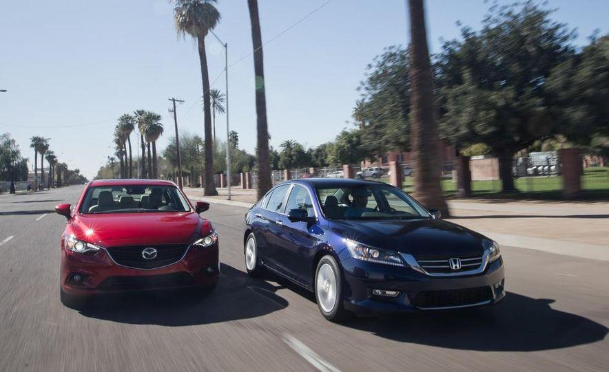 2014 Mazda 6 Grand Touring and 2013 Honda Accord EX-L - Slide 2
