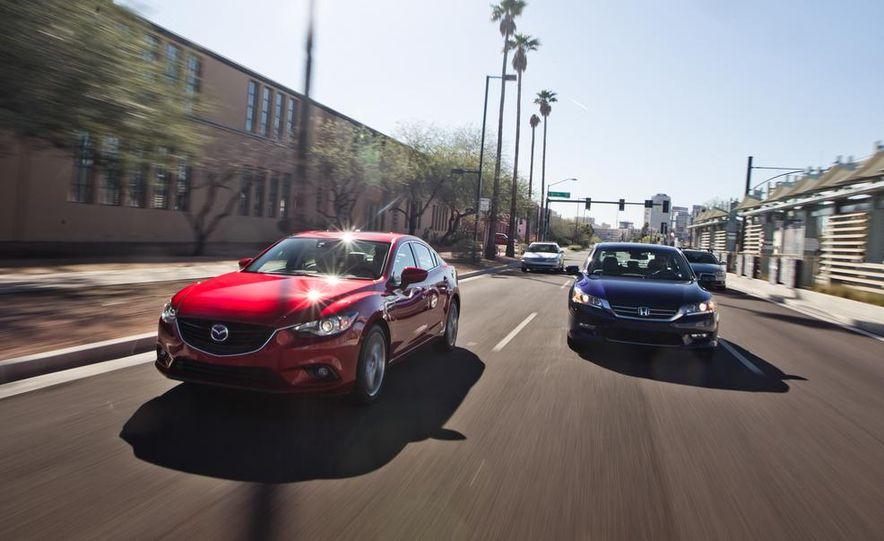 2014 Mazda 6 Grand Touring and 2013 Honda Accord EX-L - Slide 3