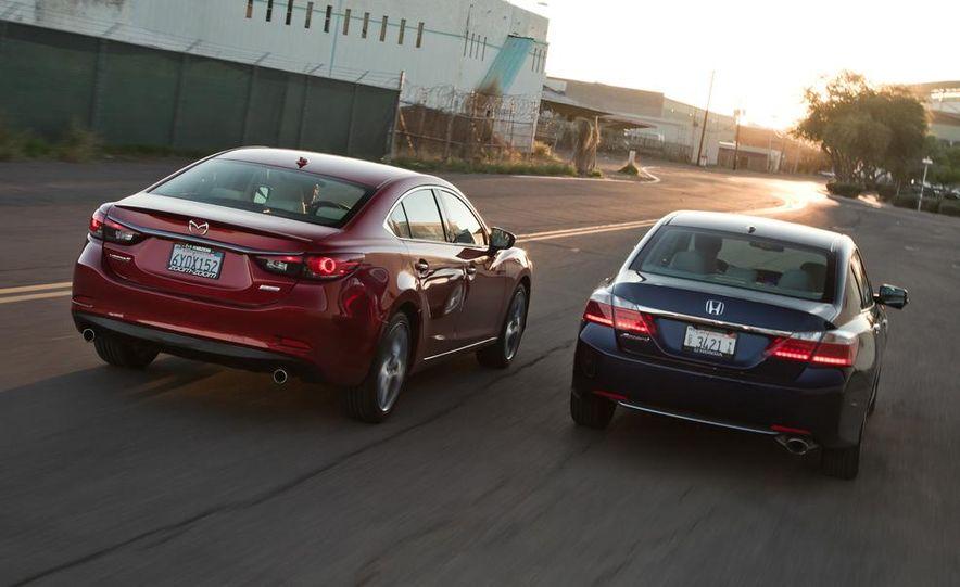 2014 Mazda 6 Grand Touring and 2013 Honda Accord EX-L - Slide 8