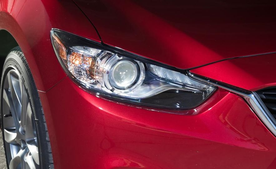 2014 Mazda 6 Grand Touring and 2013 Honda Accord EX-L - Slide 40