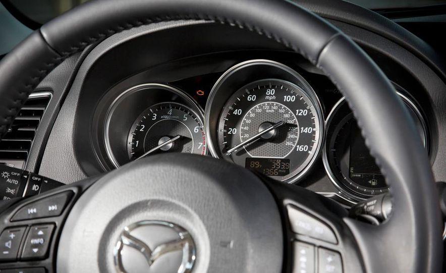 2014 Mazda 6 Grand Touring and 2013 Honda Accord EX-L - Slide 49