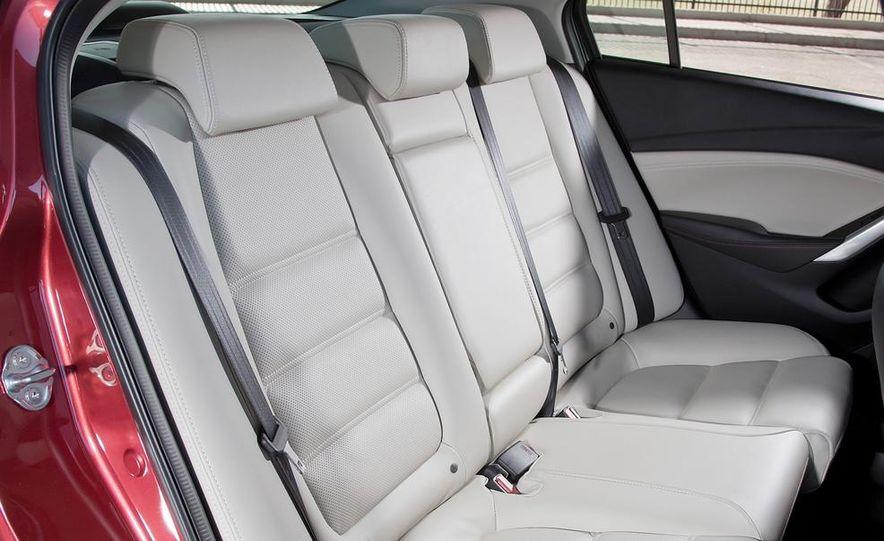 2014 Mazda 6 Grand Touring and 2013 Honda Accord EX-L - Slide 48