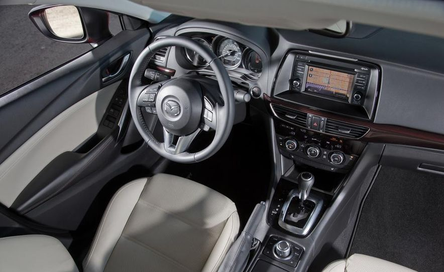 2014 Mazda 6 Grand Touring and 2013 Honda Accord EX-L - Slide 45