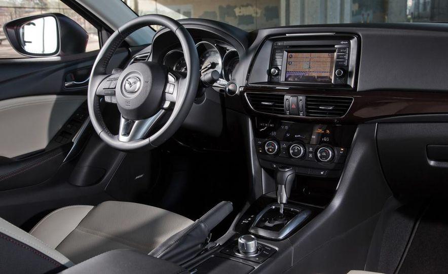 2014 Mazda 6 Grand Touring and 2013 Honda Accord EX-L - Slide 47