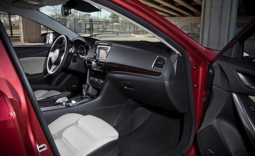 2014 Mazda 6 Grand Touring and 2013 Honda Accord EX-L - Slide 43