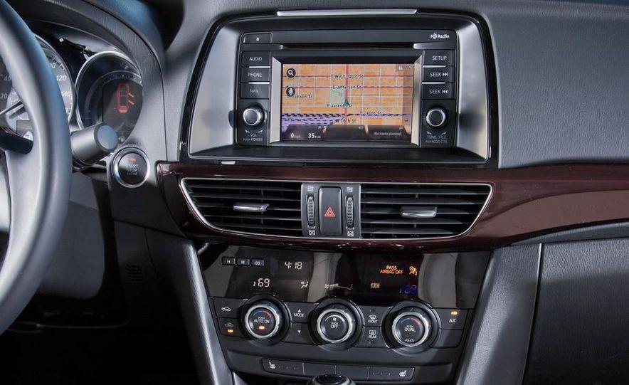 2014 Mazda 6 Grand Touring and 2013 Honda Accord EX-L - Slide 50