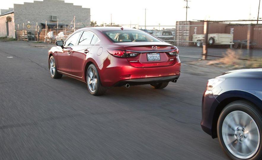 2014 Mazda 6 Grand Touring and 2013 Honda Accord EX-L - Slide 38