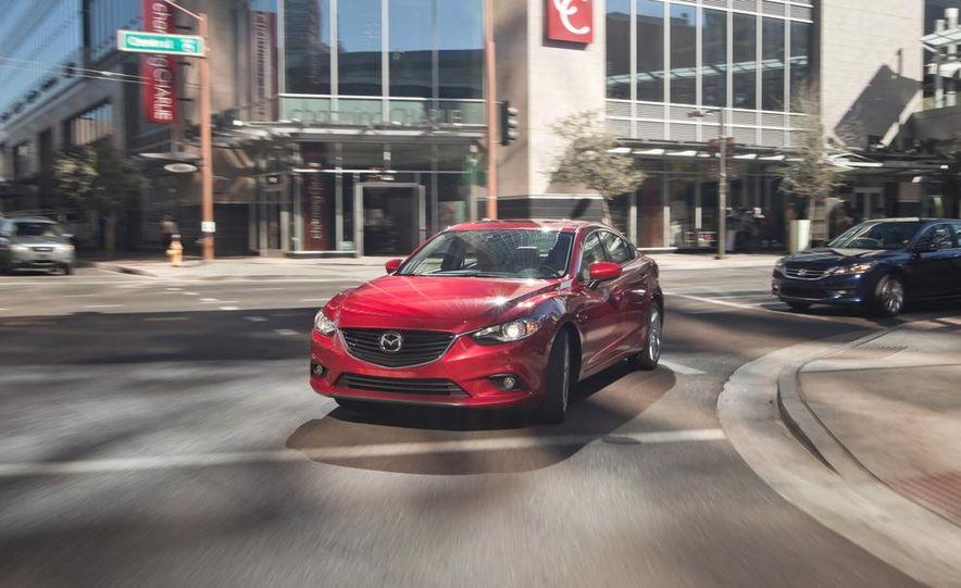 2014 Mazda 6 Grand Touring and 2013 Honda Accord EX-L - Slide 32