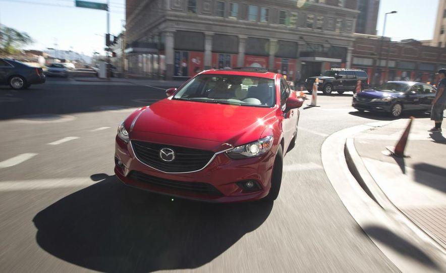 2014 Mazda 6 Grand Touring and 2013 Honda Accord EX-L - Slide 33