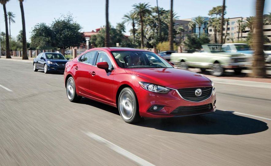 2014 Mazda 6 Grand Touring and 2013 Honda Accord EX-L - Slide 34