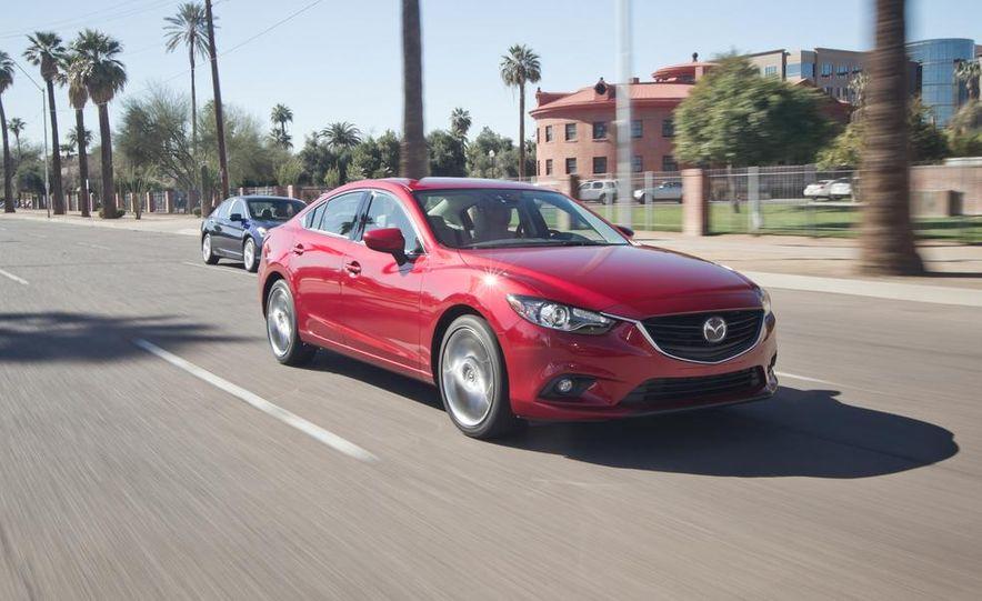 2014 Mazda 6 Grand Touring and 2013 Honda Accord EX-L - Slide 35