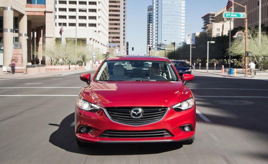 2014 Mazda 6 Grand Touring and 2013 Honda Accord EX-L - Slide 36