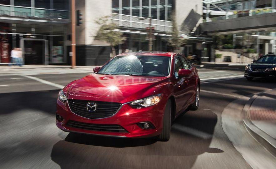 2014 Mazda 6 Grand Touring and 2013 Honda Accord EX-L - Slide 37
