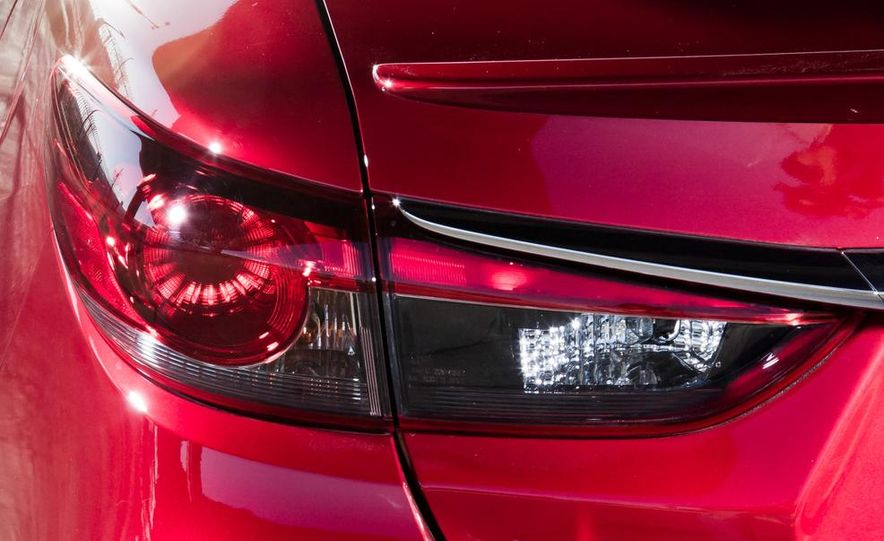 2014 Mazda 6 Grand Touring and 2013 Honda Accord EX-L - Slide 42
