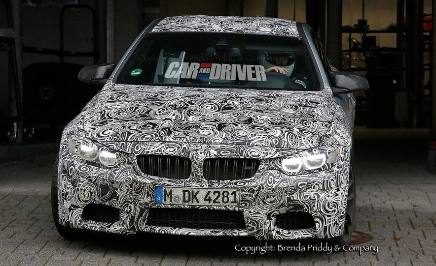 2015 BMW M4 (spy photo) - Slide 4