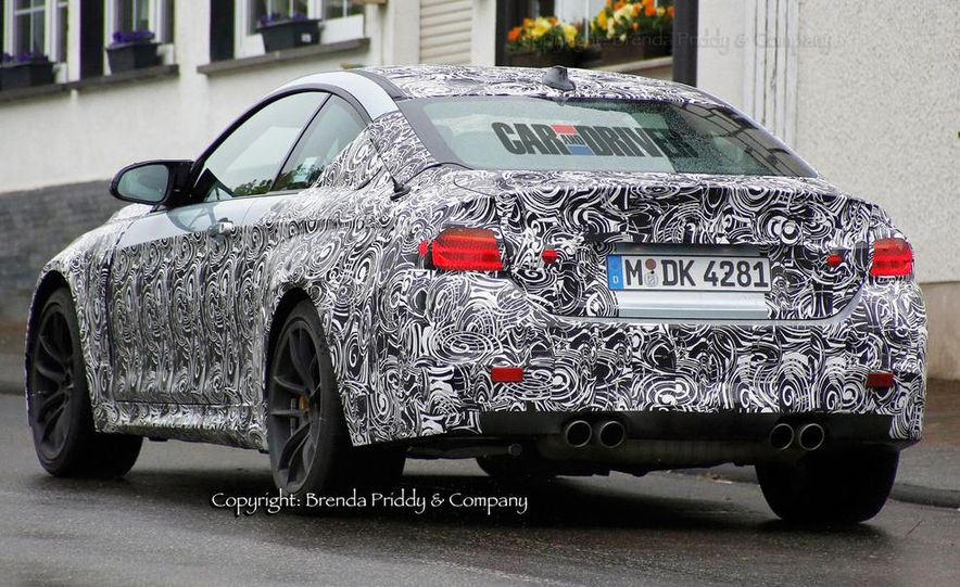2015 BMW M4 (spy photo) - Slide 5