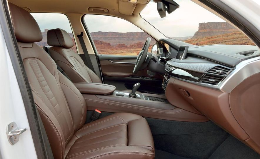 2014 BMW X5 xDrive50i and xDrive30d (Euro-spec) - Slide 55