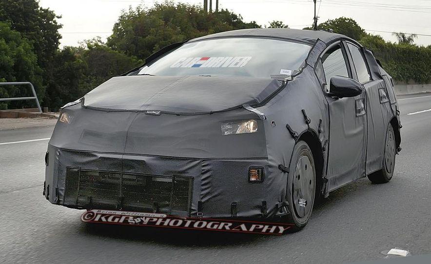 2015 Toyota Prius (spy photo) - Slide 1